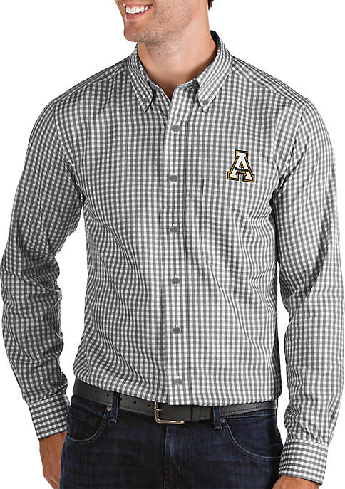 Appalachian State Mountaineers Woven Button Down Shirt