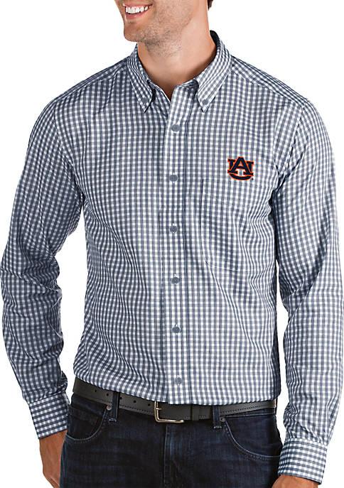 Antigua® Auburn Tigers Woven Button Down Shirt