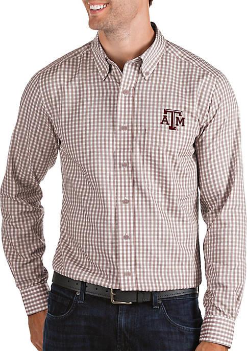 Texas A&M Aggies Woven Button Down Shirt
