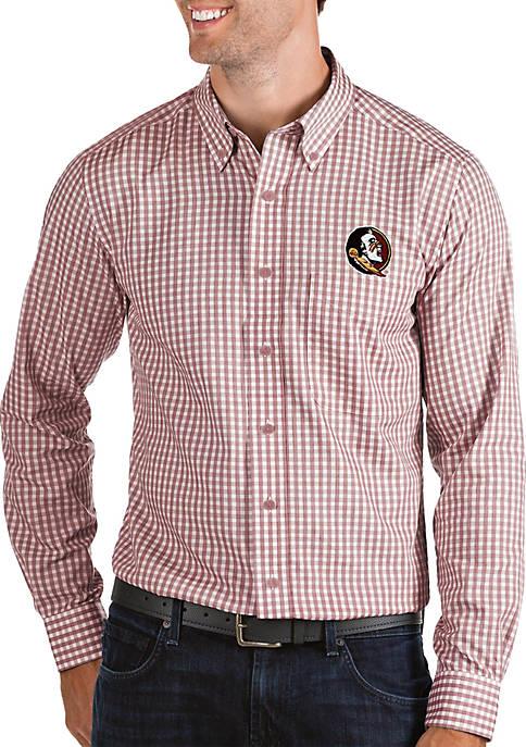 Antigua® FSU Seminoles Structure Woven Shirt