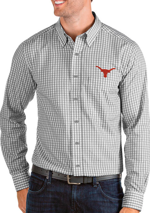 Mens NCAA Texas Longhorns Structure Shirt