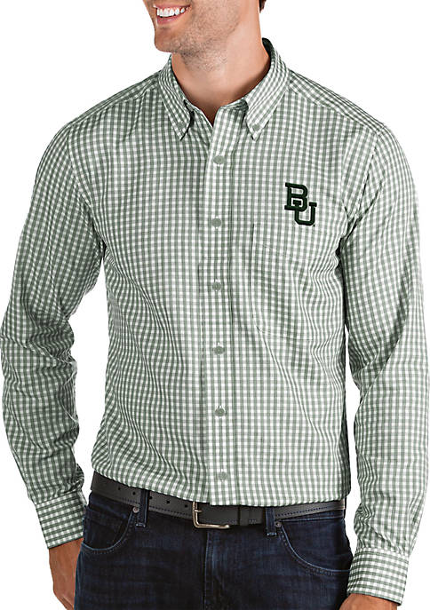 Antigua® Baylor Bears Structure Woven Shirt