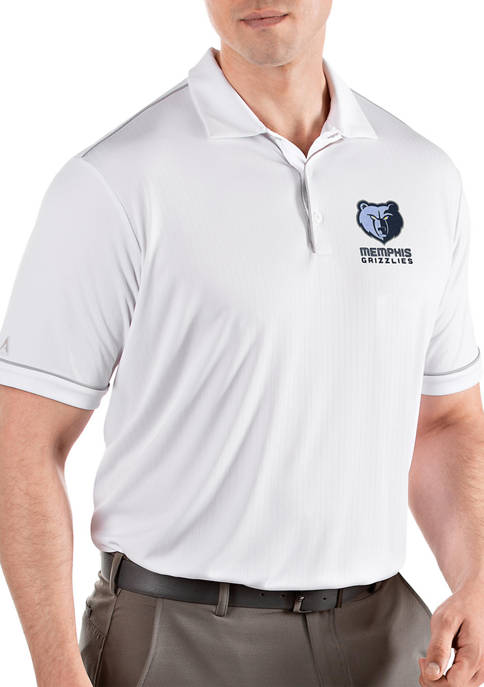 Antigua® NBA Memphis Grizzlies Mens Salute Polo Shirt