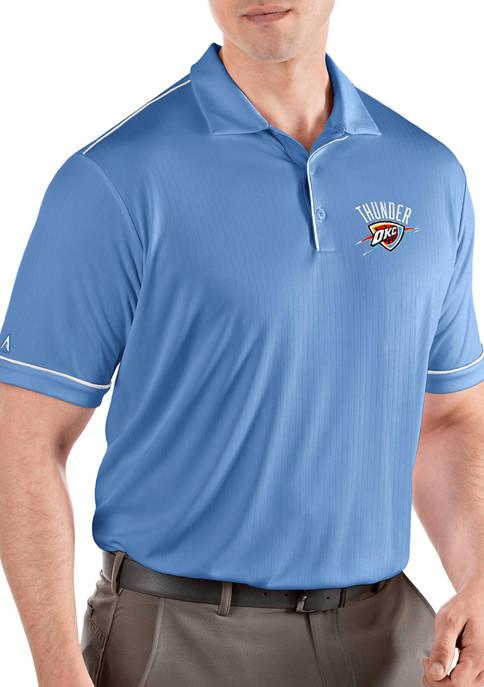 Antigua® NBA Oklahoma City Thunder Mens Salute Polo