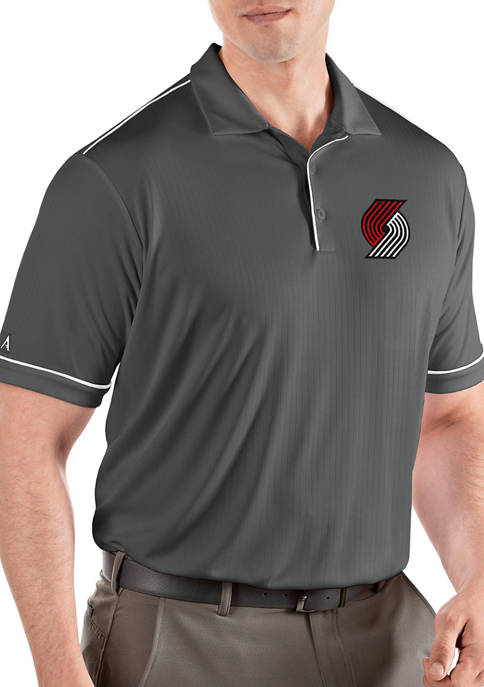 NBA Portland Trail Blazers Mens Salute Polo Shirt