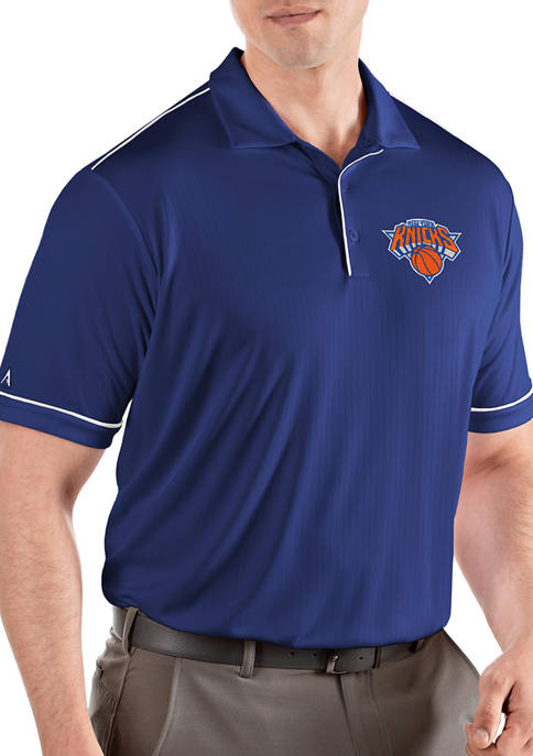 Antigua® NBA New York Knicks Mens Salute Polo