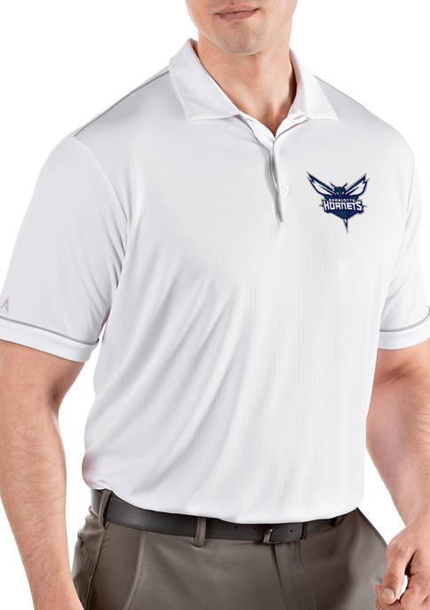 Antigua® NBA Charlotte Hornets Mens Salute Polo Shirt