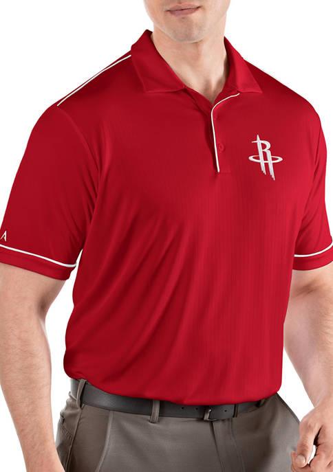 NBA Houston Rockets Mens Salute Polo Shirt