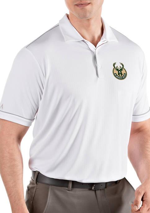 Antigua® NBA Milwaukee Bucks Mens Salute Polo Shirt
