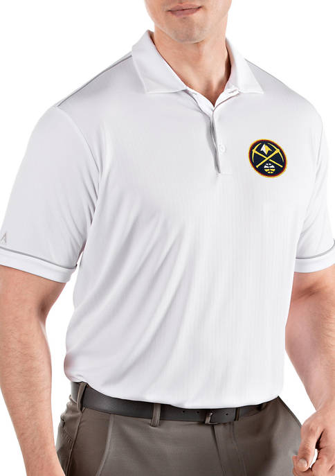 Antigua® NBA Denver Nuggets Mens Salute Polo Shirt