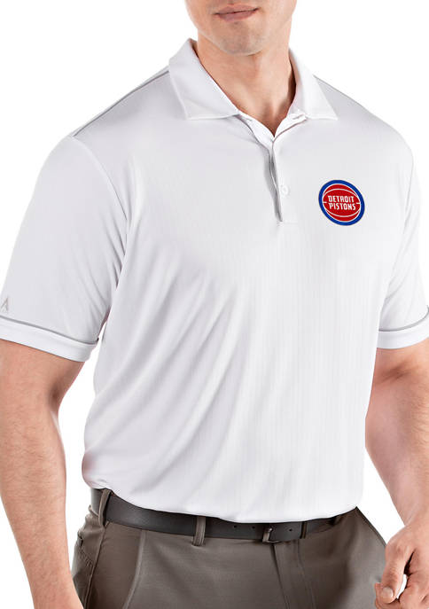 Antigua® NBA Detroit Pistons Mens Salute Polo Shirt
