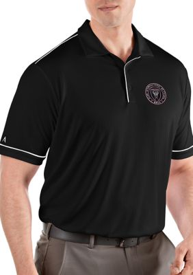 Antigua Mens Mls Inter Miami Fc Polo Shirt