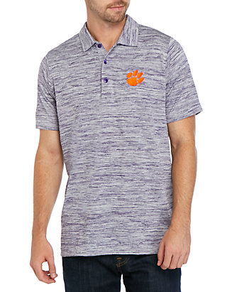 Active Grey X-Large Champion NCAA Clemson Tigers Solid Polo