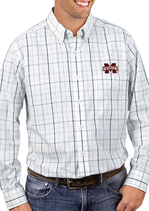 Antigua® Mississippi State Bulldogs Keen Woven Shirt