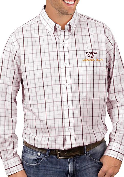 Antigua® VT Hokies Keen Woven Shirt