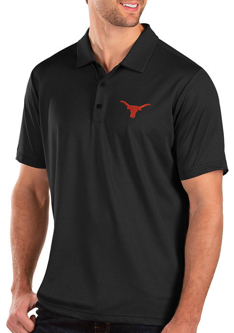 Antigua® Mens NCAA Texas Longhorns Balance Polo