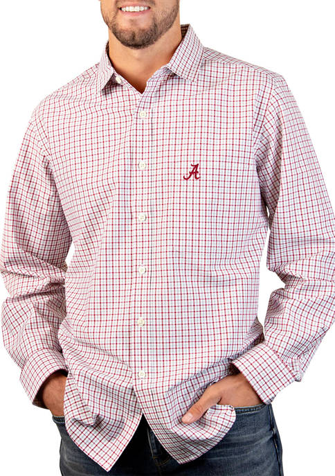 Antigua® NCAA Alabama Crimson Tide Tailgate Woven Shirt
