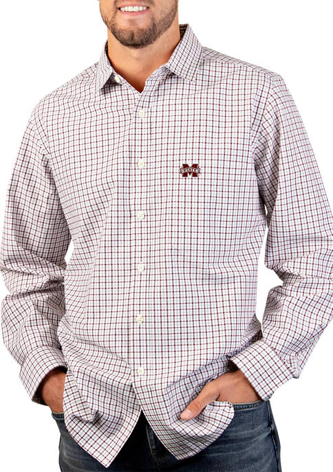 NCAA Mississippi State Bulldogs Tailgate Woven Shirt