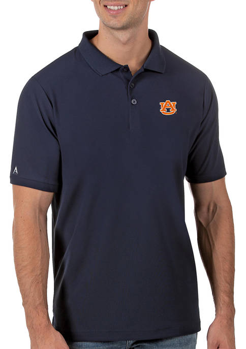 Mens NCAA Auburn Tigers Legacy Piqué Polo Shirt