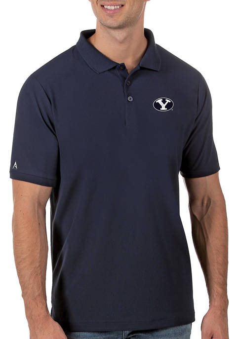 Mens NCAA BYU Cougars Legacy Piqué Polo Shirt
