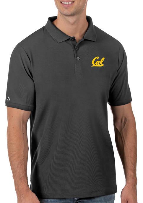 Mens NCAA California Golden Bears Legacy Piqué Polo Shirt
