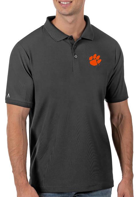 Mens NCAA Clemson Tigers Legacy Piqué Polo Shirt