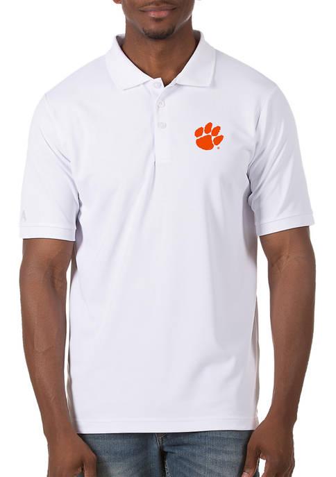 Antigua® Mens NCAA Clemson Tigers Legacy Piqué Polo