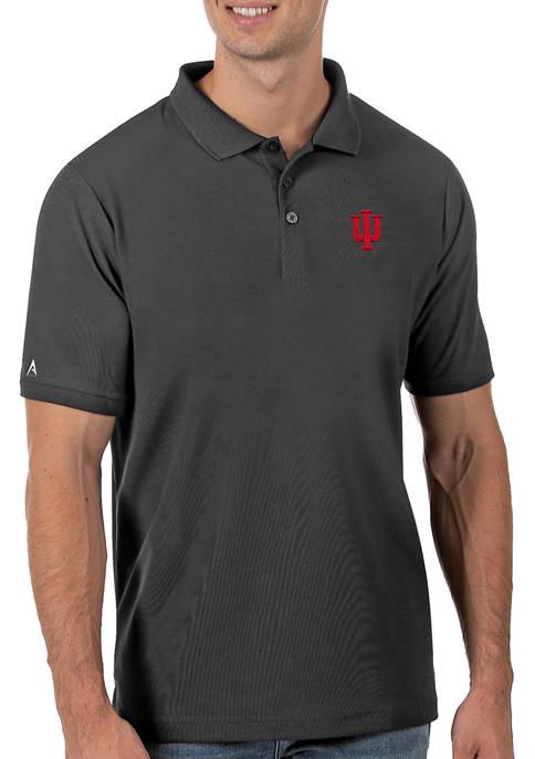 Mens NCAA Indiana Hoosiers Legacy Piqué Polo Shirt