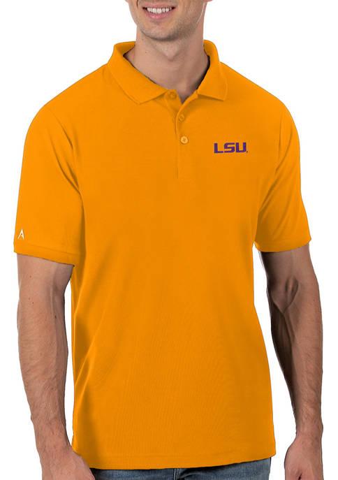 Mens NCAA LSU Tigers Legacy Piqué Polo Shirt