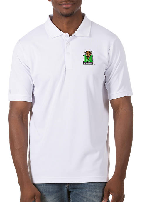 Mens NCAA Marshall Thundering Herd Legacy Piqué Polo Shirt