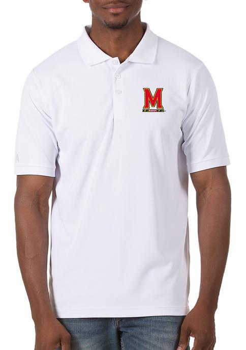 Mens NCAA Maryland Terrapins Legacy Piqué Polo