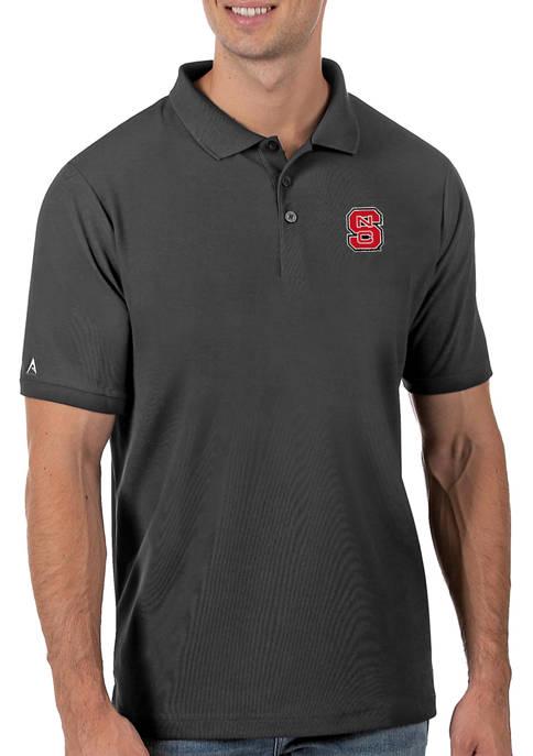 Mens NCAA NC State Wolfpack Legacy Piqué Polo Shirt
