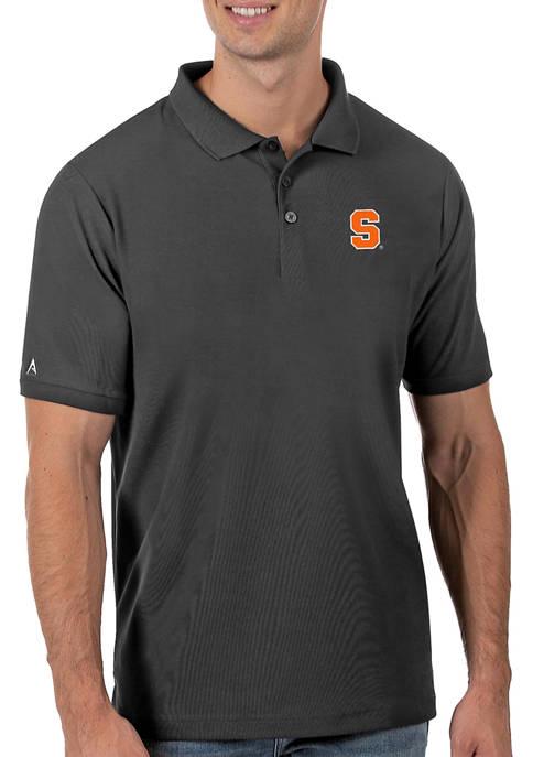 Mens NCAA Syracuse Orange Legacy Piqué Polo