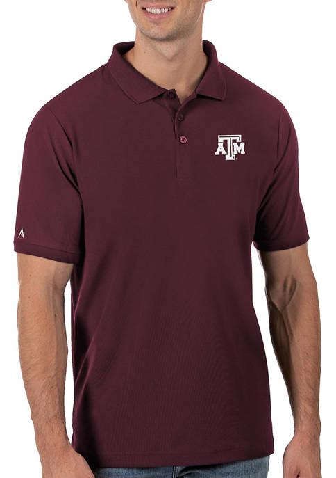 Mens NCAA Texas A&M Aggies Legacy Piqué Polo