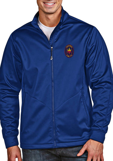 Antigua® Mens MLS Chicago Fire Golf Jacket