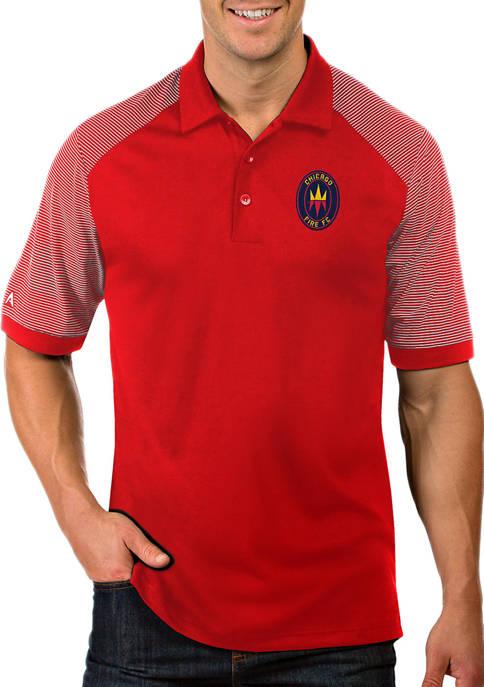 Antigua® Mens MLS Chicago Fire Engage Shirt