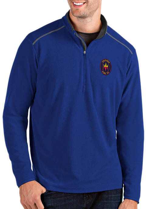 Antigua® Mens MLS Chicago Fire Glacier Pullover