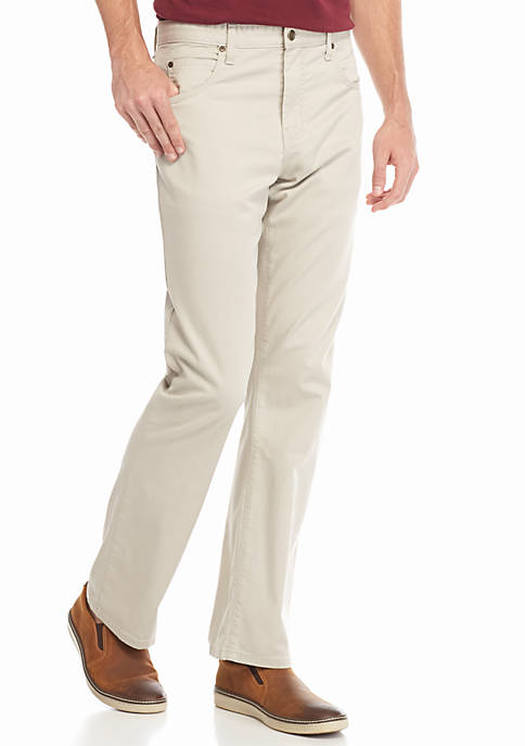 Ocean & Coast® 5-Pocket Stretch Twill Pants