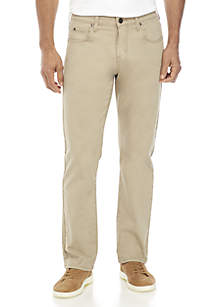 Ocean & Coast® Straight Leg Khaki Pants