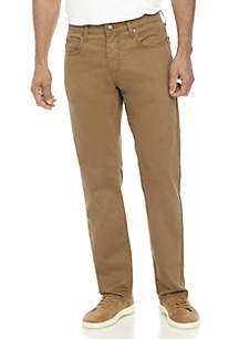 Ocean & Coast® Straight Leg Dark Beige Pants