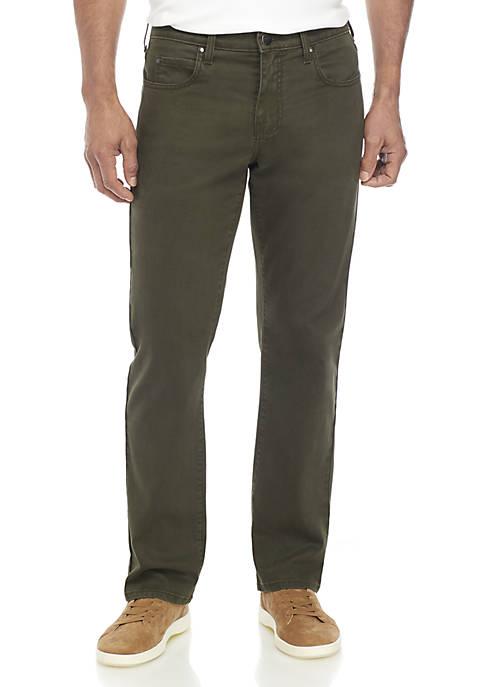 Ocean & Coast® Straight Leg Dark Green Pants