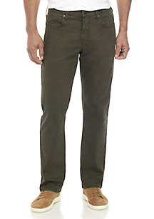 Ocean & Coast® Straight Leg Dark Green Pants