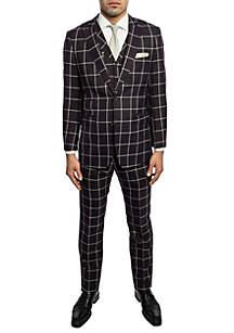 English Laundry™ Peak Lapel Vested Suit