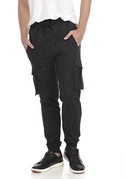 TRUE CRAFT Cargo Fleece Joggers