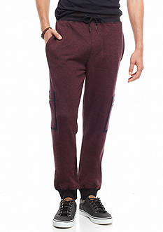 Red Camel® Zip Cargo Knit Jogger Pants
