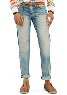 Denim   Supply Ralph Lauren Slim-Fit Lockwood-Wash Jeans  cfff5abaee30