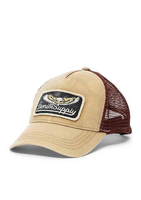 Denim   Supply Ralph Lauren Canvas Trucker Hat  cd0b847f297