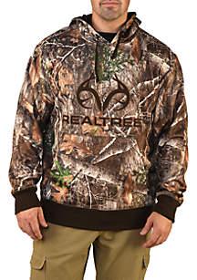 Camouflage Body Logo Fleece Hoodie