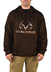 Camo Body Logo Fleece Hoodie