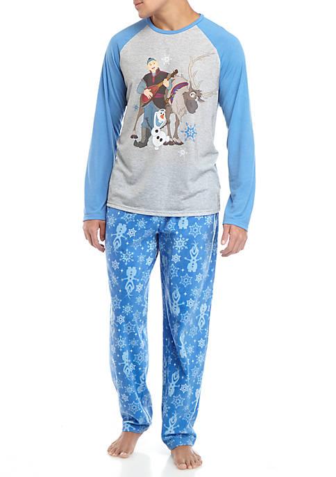 Disney® Frozen Mens 2 Piece Pajama Set